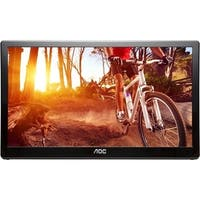 "AOC E1659FWU 16"" LED LCD Monitor - 16:9 - 8 ms (As Is Item)"