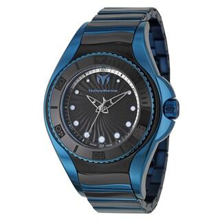 TechnoMarine Women's 'Blue Manta' Stainless Steel Blue Swiss Quartz Watch