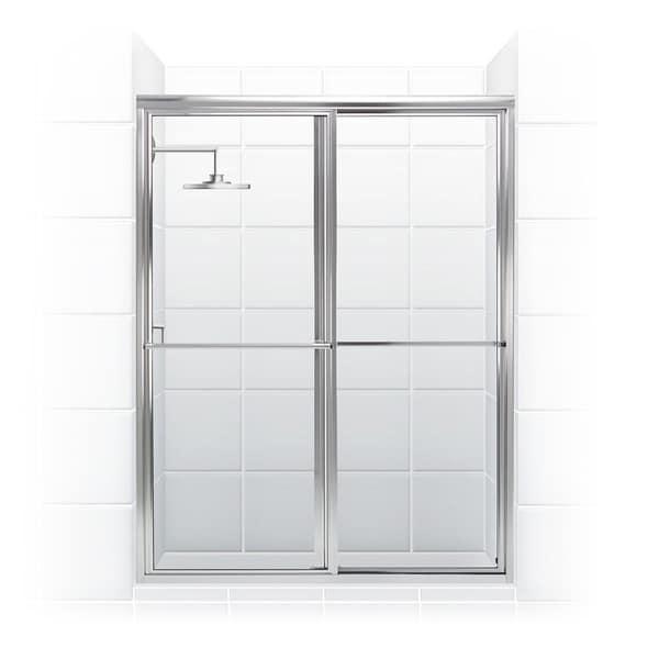 Basement Bar Conceptual Would Need Glass Sliding Doors: Newport Series 46 X 70-inch Framed Sliding Shower Door
