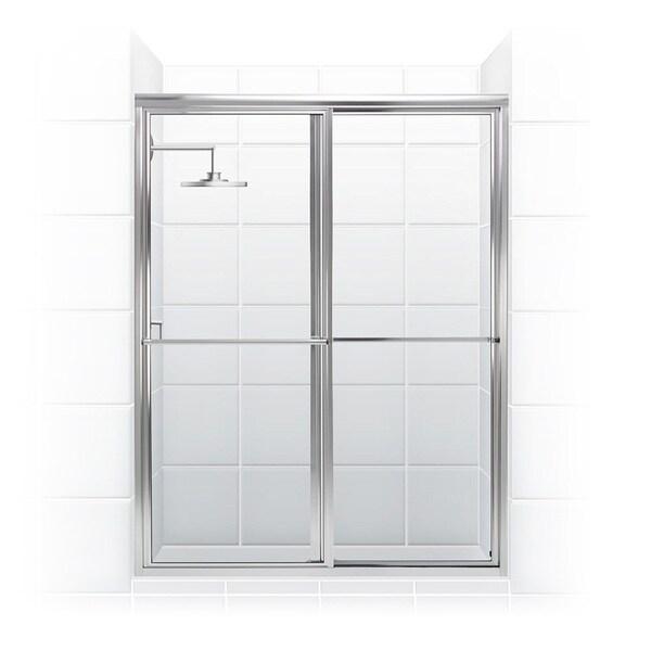 Newport Series 46 X 70 Inch Framed Sliding Shower Door