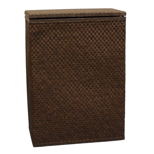 Shop Lamont Home Whitaker Upright Hamper Free Shipping