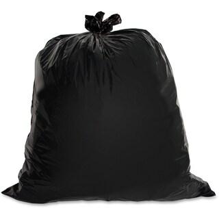 Genuine Joe Heavy-duty Black Trash Bag (Box of 100)