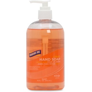 Genuine Joe 16 oz. Orange Hand Soap