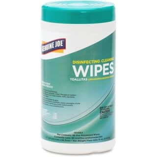 Genuine Joe White Disinfecting Cleaning Wipes|https://ak1.ostkcdn.com/images/products/10012156/P17159875.jpg?impolicy=medium