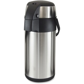 Genuine Joe Stainless Steel 3-liter Vacuum Airpot