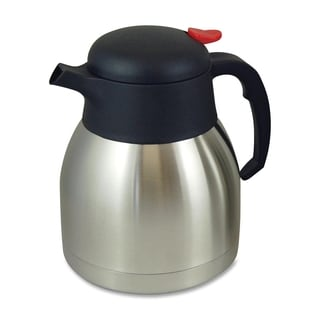 Genuine Joe Stainless Steel Everyday Double Wall Vacuum Carafe