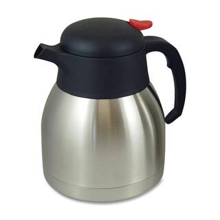 Genuine Joe Stainless Steel Everyday Double Wall Vacuum Carafe|https://ak1.ostkcdn.com/images/products/10012190/P17159898.jpg?impolicy=medium