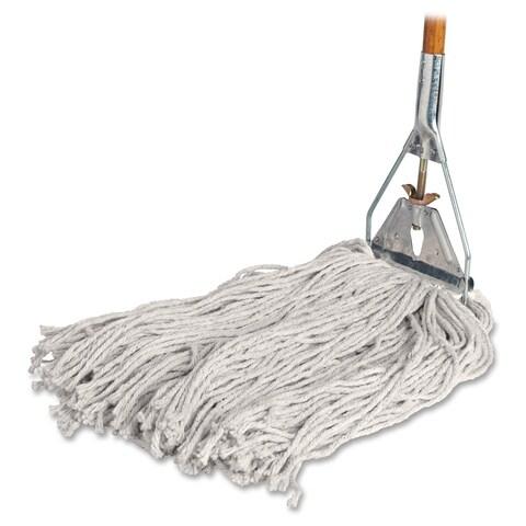 Genuine Joe Cotton Wet Mop with Handle
