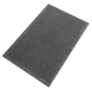 Genuine Joe Charcoal Grey Silver Series Walk-off Mat