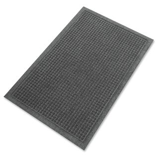 Genuine Joe Charcoal Grey Silver Series Walk-off Mat