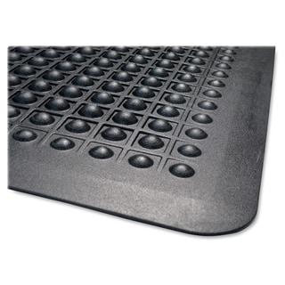 Genuine Joe Black Safe Step Anti-Fatigue Mat