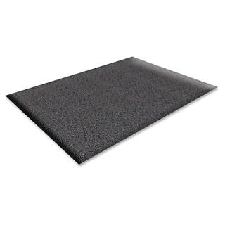 Genuine Joe Marble Top Anti-fatigue Black Mat