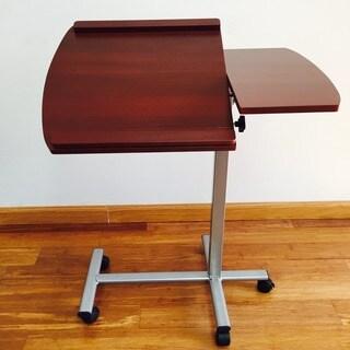 Premium Wood Laptop Adjustable Desk Stand - Cherry