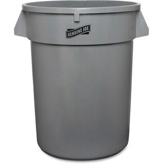 Genuine Joe Heavy-duty Grey Trash Container
