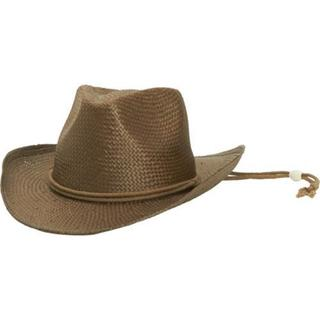 Children's San Diego Hat Company Woven Paper Cowboy STCLKID Brown
