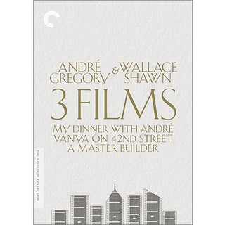 Andre Gregory & Wallace Shawn: 3 Films Collection Box Set (DVD)