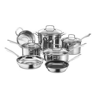 11PC SET PROFFESSIONAL ACCSSTAINLESS COOKWARE SET