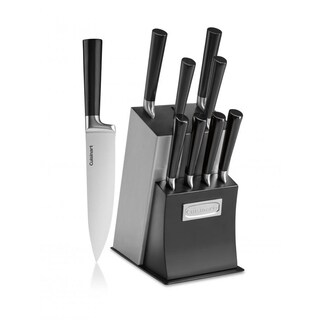 Classic 11-Piece Vetrano Collection Cutlery Knife Block Set