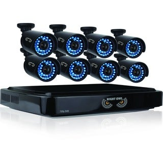 Night Owl Security 16-channel HD 2TB DVR Security System with 8 720p HD Bullet Cameras