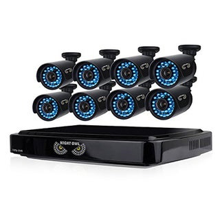 Night Owl 16 Channel Video Security System with 8 hi-resolution 900 T