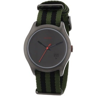 Nixon Men's A344-1151 'Quad' Green Nylon Watch