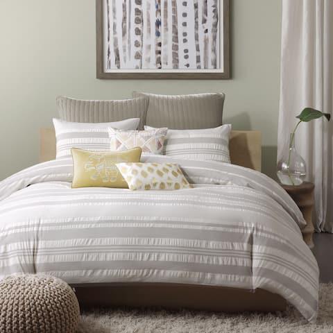 Carbon Loft Hammond Cotton 3-piece Comforter Set