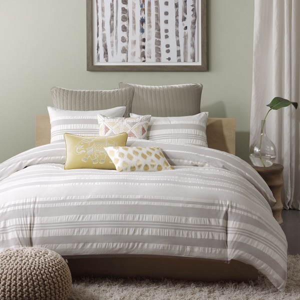 Ink+Ivy Lakeside Cotton 3-piece Comforter Set
