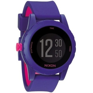 Nixon Women's A326-230 'Genie' Purple Silicone Watch