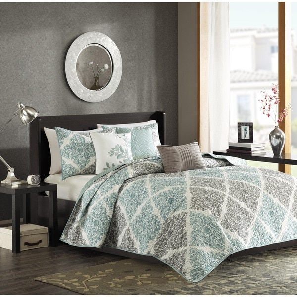 Madison Park Montecito 6-Piece Quilted Coverlet Set - Free ...