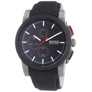 Hugo Boss Men's 1512979 Chronograph Black Nylon Watch
