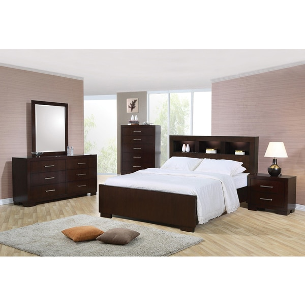 Highland Cappuccino 5-piece Bedroom Set - Free Shipping Today ...