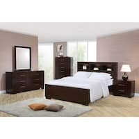 Highland Cappuccino 4-piece Bedroom Set