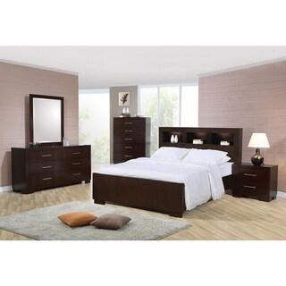 Highland Cappuccino 4-piece Bedroom Set
