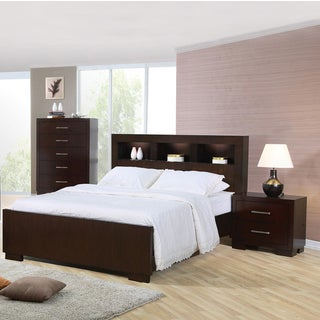Highland Cappuccino 3 Piece Bedroom Set