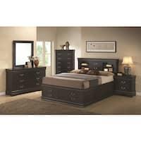 Blackhawk Black 5-piece Bedroom Set