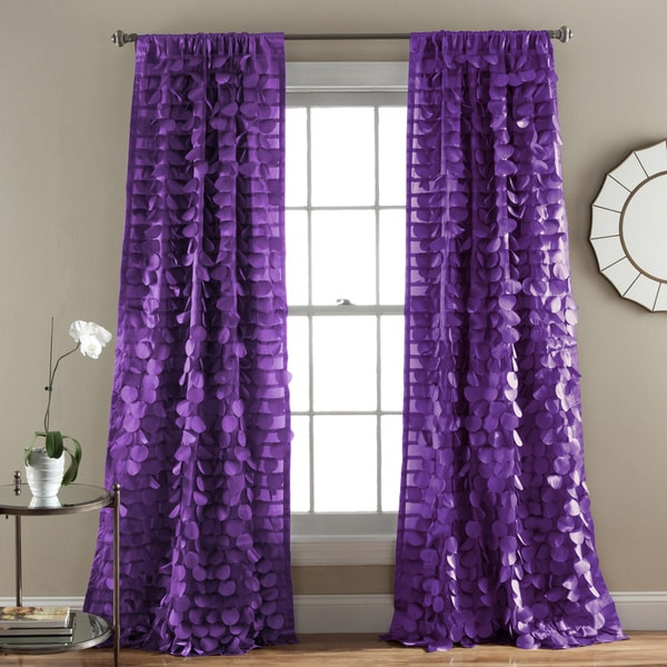 Lush Decor Gala Window Curtain Panel