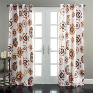 Lush Decor Adrianne Room Darkening 84-Inch Curtain Panel Pair