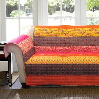 Lush Decor Royal Empire Loveseat Furniture Protector Slipcover