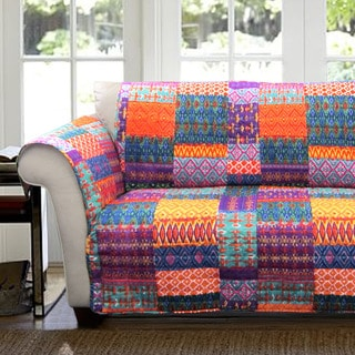Lush Decor Misha Loveseat Furniture Protector Slipcover
