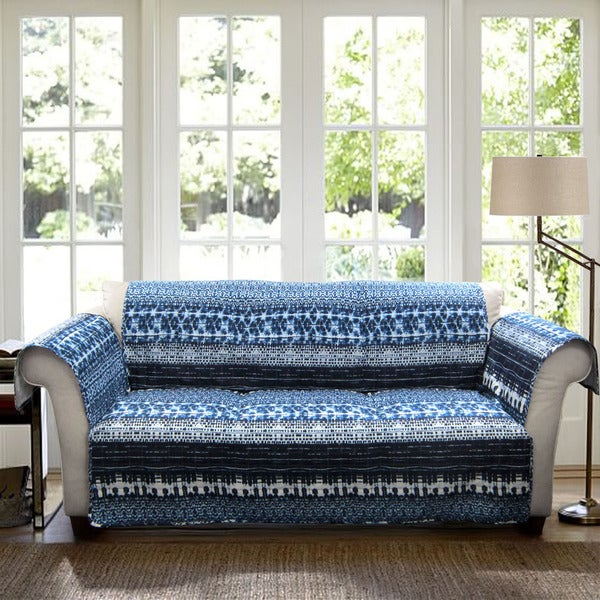 Shop Lush Decor Lambert Sofa Furniture Protector Slipcover Free