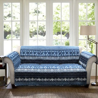 Lush Decor Lambert Sofa Furniture Protector Slipcover