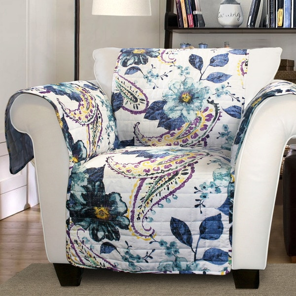 Shop Lush Decor Floral Paisley Armchair Furniture