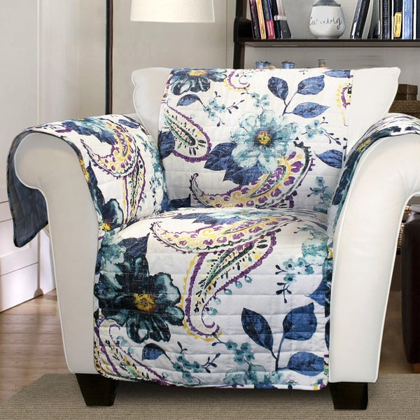 Shop Lush Decor Floral Paisley Armchair Furniture ...