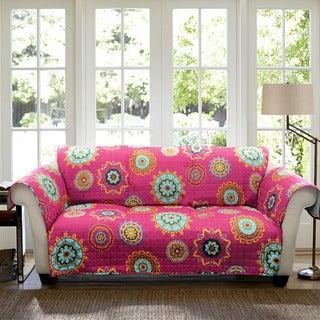 Lush Decor Adrianne Sofa Furniture Protector Slipcover