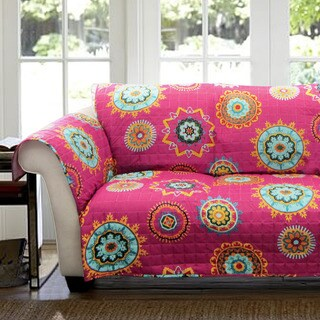 Lush Decor Adrianne Loveseat Furniture Protector Slipcover
