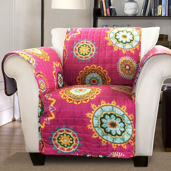 Shop Lush Decor Adrianne Armchair Furniture Protector Slipcover New Abf Furniture Decor
