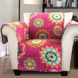Lush Decor Adrianne Armchair Furniture Protector Slipcover
