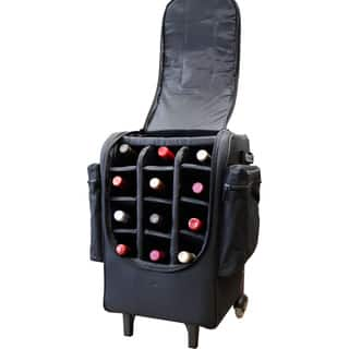 Amerileather Rolling 12-Bottle Wine Bag|https://ak1.ostkcdn.com/images/products/10013946/P17161384.jpg?impolicy=medium