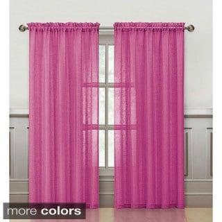 VCNY Sparkle 84-Inch Rod Pocket Curtain Panel