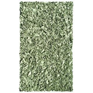 Shaggy Raggy Cotton Shag Rug (4'7 x 7'7)